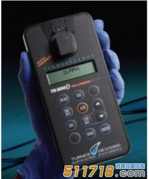 美国TURNER DESIGNS TD-500D紫外荧光水中油测定仪