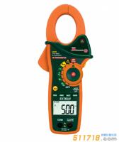 美国EXTECH EX820 1000A真有效值交流钳表红外测温仪