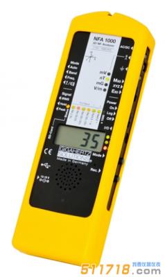 德国Gigahertz Solutions NFA1000智能电磁场分析仪