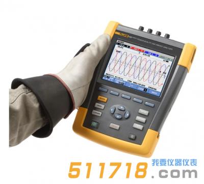美国Fluke 435 II系列电能质量和能量分析仪