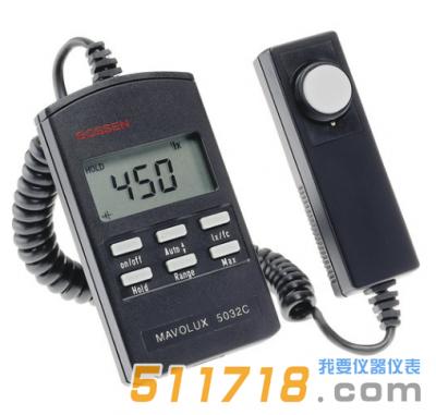 德国GMC-I MAVOLUX 5032 B/C高精度照度计