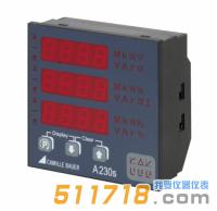 德国GMC-I SINEAX A230s LED显示多功能电量表