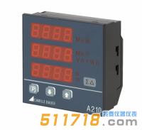 德国GMC-I SINEAX A210 LED显示多功能电量表