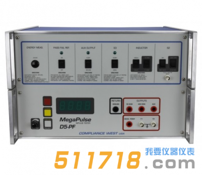 美国compwest MegaPulse D5-PF除颤效应测试仪