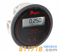 美国Dwyer DM-2000数显微差压变送器