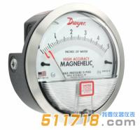 美国Dwyer MAGNEHELIC 2000系列差压表