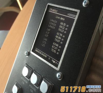 英国CIRRUS CR:465 Galactus噪声监测仪