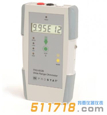 美国Prostat PAS-853B宽量程表面电阻测试仪