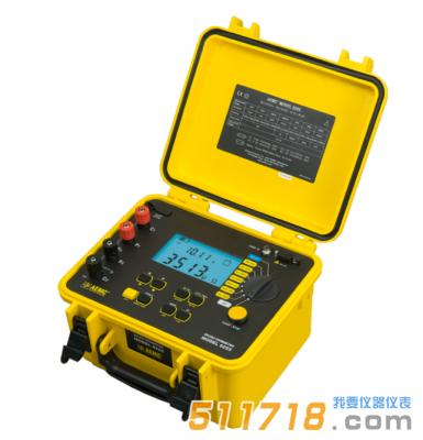 美国AEMC 6255便携式10A、0.1μΩ分辨率数字微欧姆计