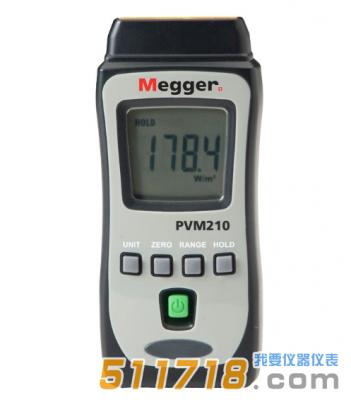 美国Megger PVM210太阳能辐照计
