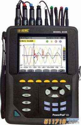 美国AEMC 8336三相电能质量分析仪