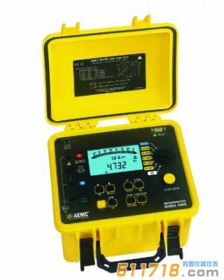 美国AEMC 5060便携式可编程兆欧表