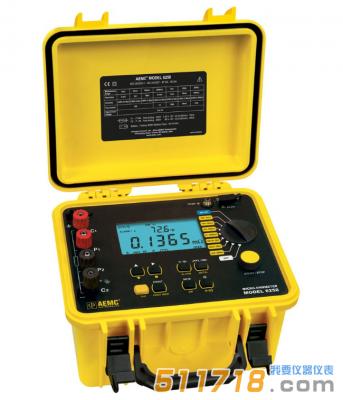 美国AEMC 6250便携式10A、0.1μΩ分辨率数字微欧计