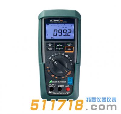 德国GMC-Instruments METRAHIT ISO 4¾位数字多用表及绝缘测试仪