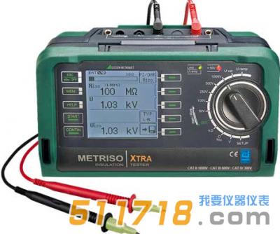 德国GMC-Instruments METRISO XTRA安规测试仪