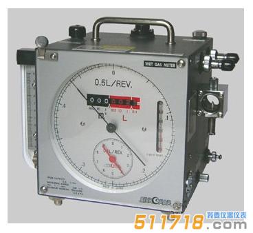 日本品川 W-NK-0.5B湿式气体流量计