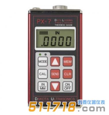 美国DAKOTA PX-7/PX7-DL超声波测厚仪