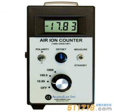 美国AlphaLab AIC2000高量程负离子浓度检测仪
