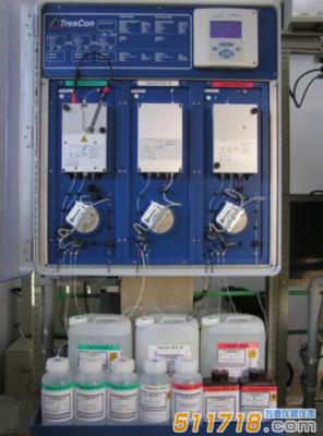 德国WTW TresCon A111+ON210+ON510在线总氮测定仪
