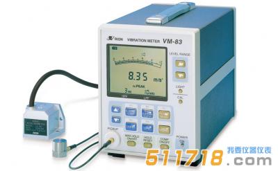 日本RION理音 VM-83通用振动测量仪